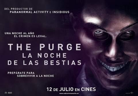 """Concurso """"The Purge. La Noche de las Bestias""""."""