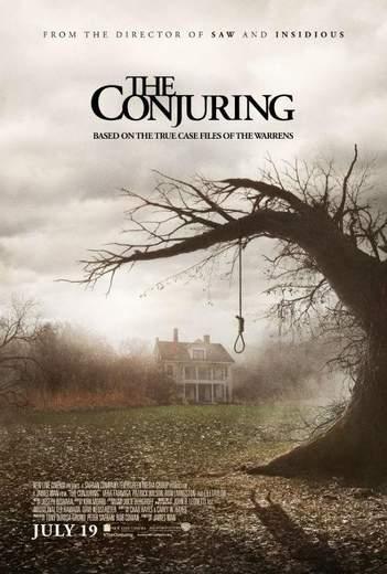 """Póster de """"Expediente Warren: The Conjuring""""."""