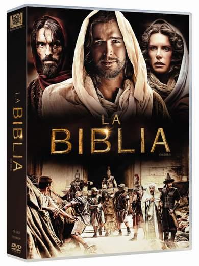"Pack DVD de ""La Biblia""."