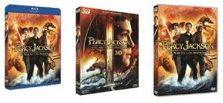 Carátulas Percy Jackson y el mar de los monstruos