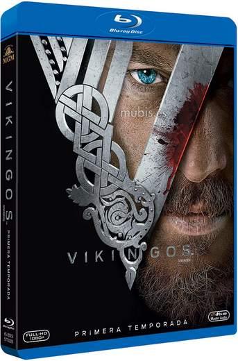 Carátula Blu-ray Vikingos