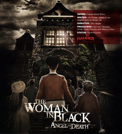 Póster de La Mujer de negro: Ángel de la muerte