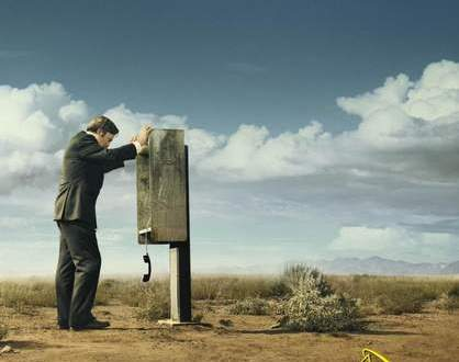 Póster de Better call Saul (2015) spin-off de breaking Bad
