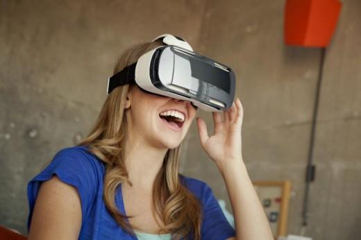 Nuevo Casco de realidad virtual móvil Samsung Gear VR