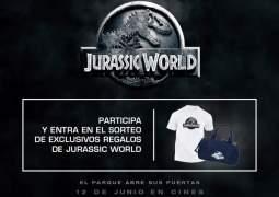 Estreno de Jurassic World. Te ofrecemos un pack de regalos (Terminado)