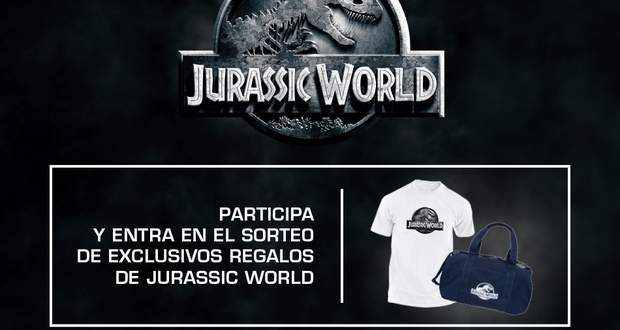 Concurso pack de regalos de Jurassic World