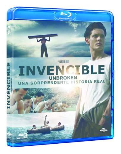 Carátula Blu-ray Invencible