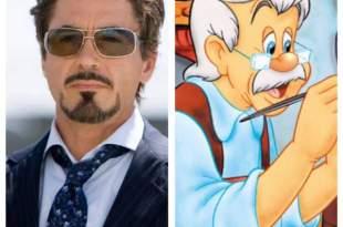 Pinocho de Robert Downey Jr.