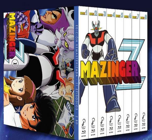 Colección Completa Mazinger Z en Blu-ray
