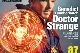 Portada de Benedict Cumberbatch como Doctor Extraño