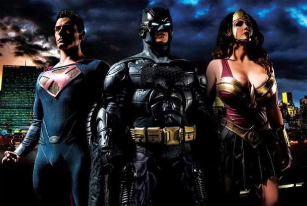 Versión Porno de Batman Vs Superman