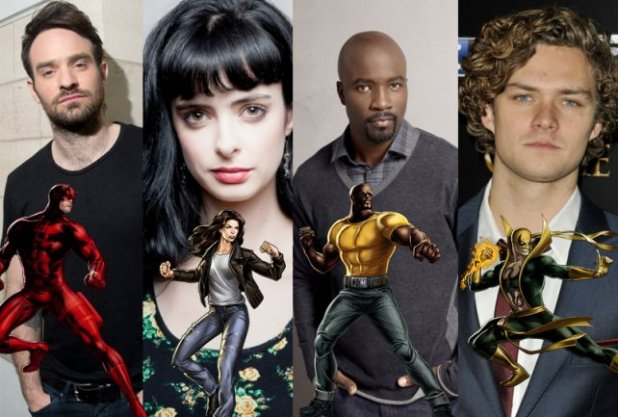 "Secundarios de la serie ""The Defenders"""