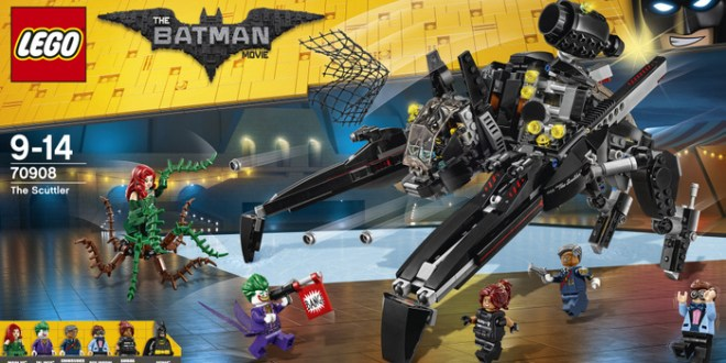 Concurso de Lego, set batman criatura