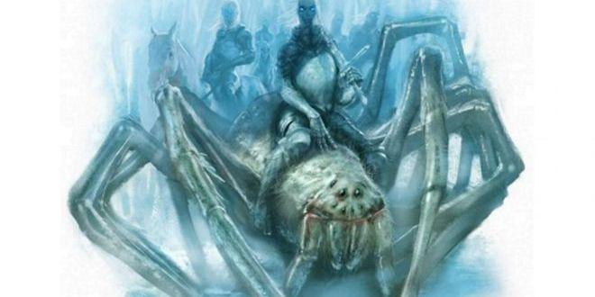 Enormes y heladas arañas en Juego de Tronos, ahora si que se acerca el invierno