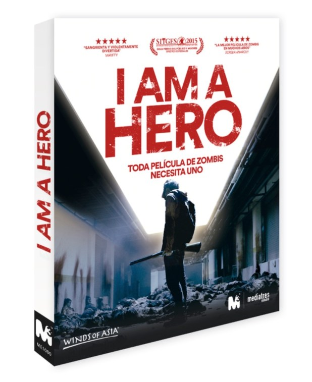 Blu-ray de I am a Hero