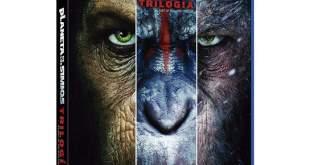 Concurso El planeta de los simios. Llévate a casa la trilogía en Blu-ray