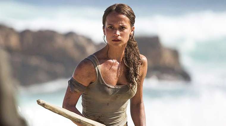 Lara Croft, Alicia Vikander, Tomb Raider
