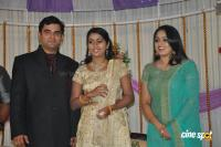 Actress Navya Nair Marriage Wedding reception Photos (38)