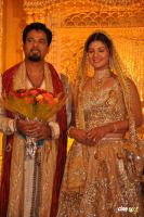 Rambha reception Actress marriage Wedding Pics