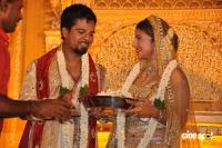 Rambha reception photos Ramba with Indra Kumar Reception Marriage Photos (4)