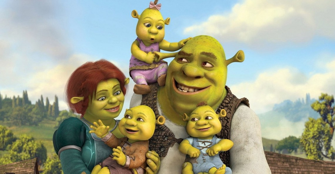Shrek per Sky Cinema DreamWorks