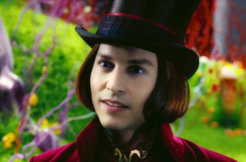Johnny Depp Willy Wonka