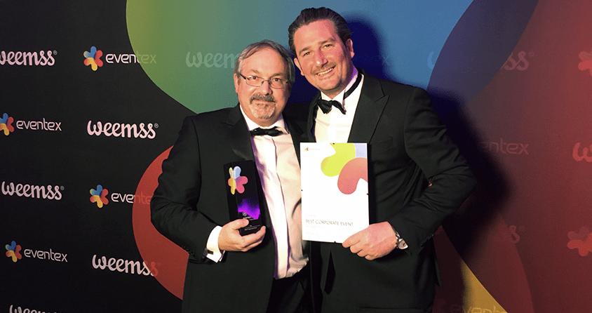 Wolf Zöttl und Emanuel Grasl als Global Event Award Gewinner