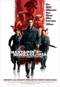 "Locandina di ""Bastardi senza gloria"""