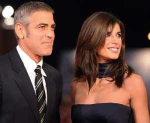 George Clooney insieme ad Elisabetta Canalis