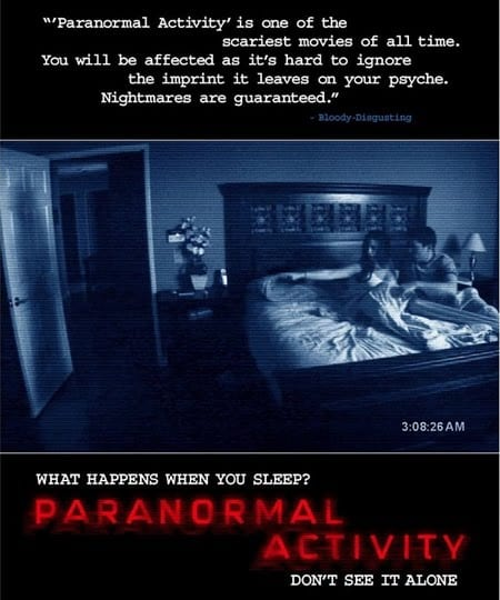 Locandina di Paranormal Activity