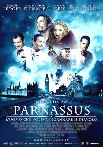 "Locandina di ""Parnassus: L'uomo che voleva ingannare il diavolo"""
