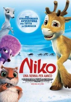 """Locadina di """"Niko, una renna per amico"""""""