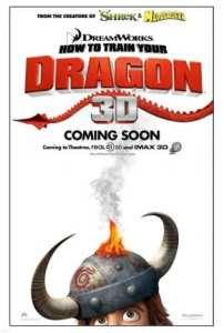 "Locandina di ""How to train your Dragon"" (white)"