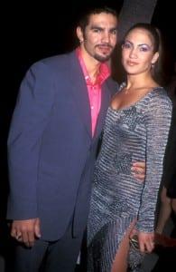 Jennifer Lopez e Ojani Noa quando erano sposati