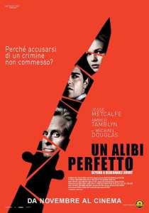 """Locadina di """"Un alibi perfetto"""""""