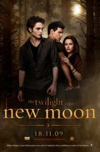 Twilight Saga: New Moon - La locandina