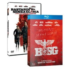 """Copertine DVD e Blu-Ray Disc di """"Bastardi Senza Gloria"""""""