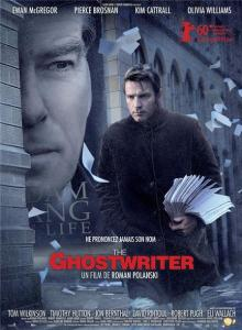 """Locandina di """"The Ghostwriter""""(L'uomo nell'ombra)"""