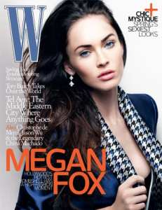 """Megan Fox sulla copertina di """"W"""""""