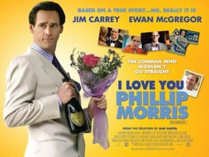 "Locandina di ""I Love you Philip Morris"""