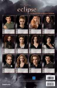 """Calendario 2011 di """"Eclipse"""": i personaggi"""