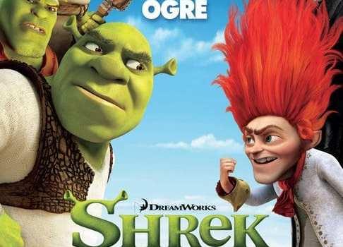 """Locandina americana di """"Shrek e vissero felici e contenti"""""""
