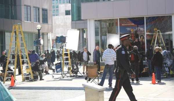 "Foto dal set di ""Saw VII"""