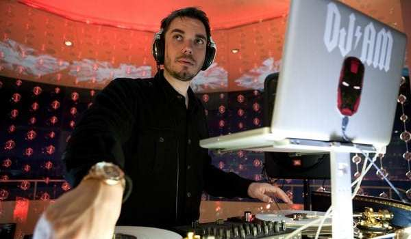 "Dj AM in ""Iron Man 2"""