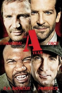 """Locandina di """"The A-Team"""""""