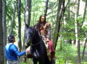 Conan il Barbaro - Jason Momoa sul set