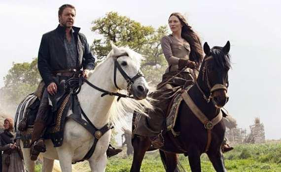Robin Hood: Russell Crowe e Cate Blanchett