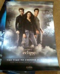 Il poster inedito di Eclipse