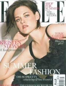 Kristen Stewart sulla copertina di Elle UK