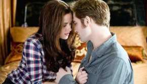 "Kristen Stewart e Robert Pattinson in ""Eclipse"""